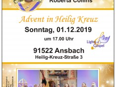 Adventskonzert der LIGHTS OF GOSPEL | Vorschaubild